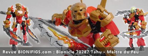 [Revue] LEGO Bionicle 70787 : Tahu, Maître du Feu Actuta11