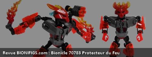 [Revue] LEGO Bionicle 70783 : Protecteur du Feu Banniy10