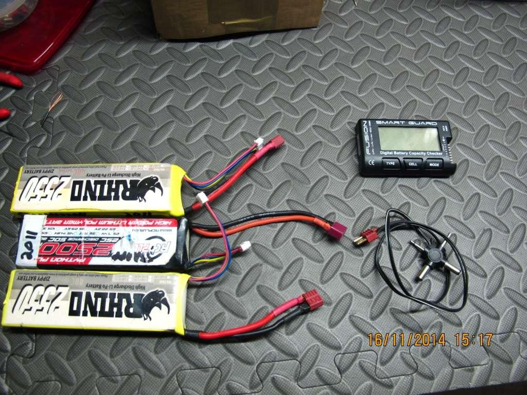 Bricollage du Dimanche: Batterie super légère Img_8721