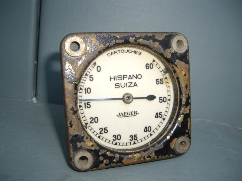 identification compteur avion chasse hispano suiza Collec35