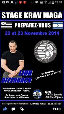 Stage avec Lior Offenbach 10421410