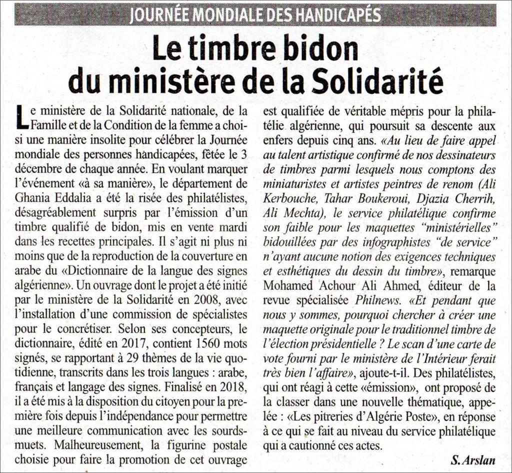 Emission 17/2019: Dictionnaire algérien de la langue des signes Bidon_10
