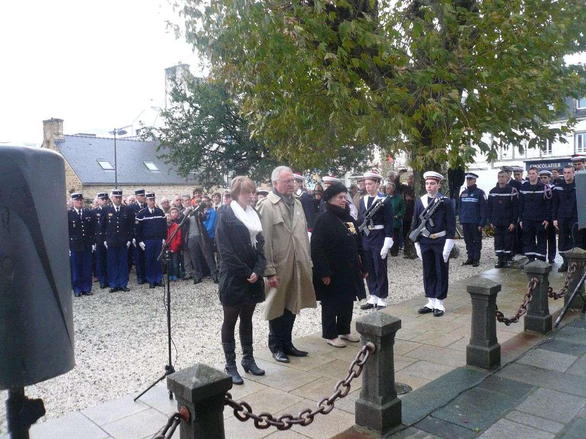 Cérémonie du 11 Novembre 2014 à Fouesnant les Glénan avec la Marine Nationale 1310