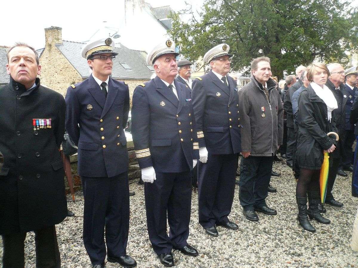 Cérémonie du 11 Novembre 2014 à Fouesnant les Glénan avec la Marine Nationale 1410