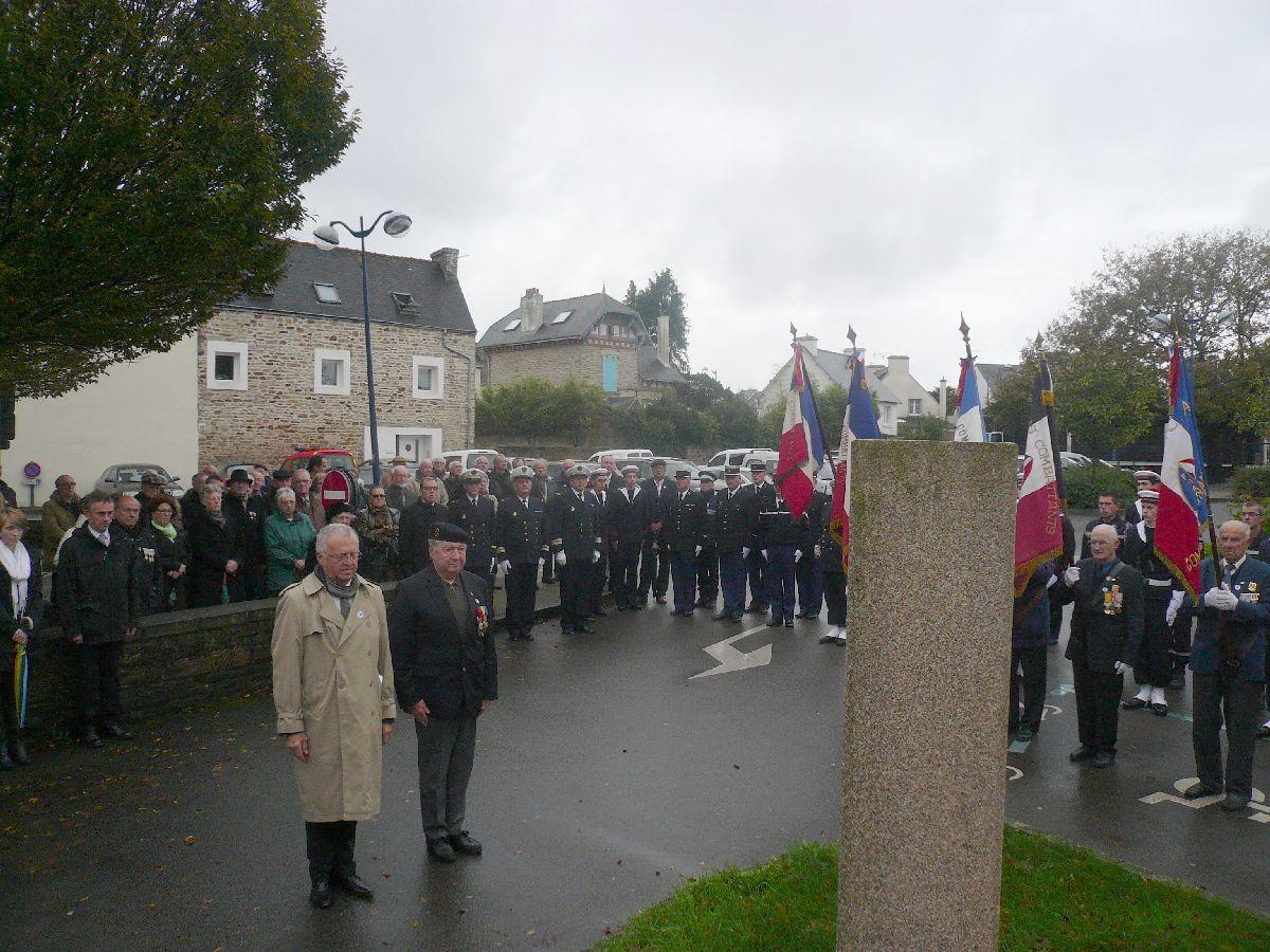 Cérémonie du 11 Novembre 2014 à Fouesnant les Glénan avec la Marine Nationale 810