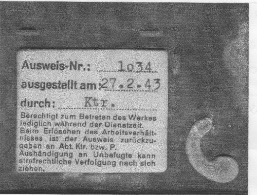 Laisser passer - 1943 Auswei10
