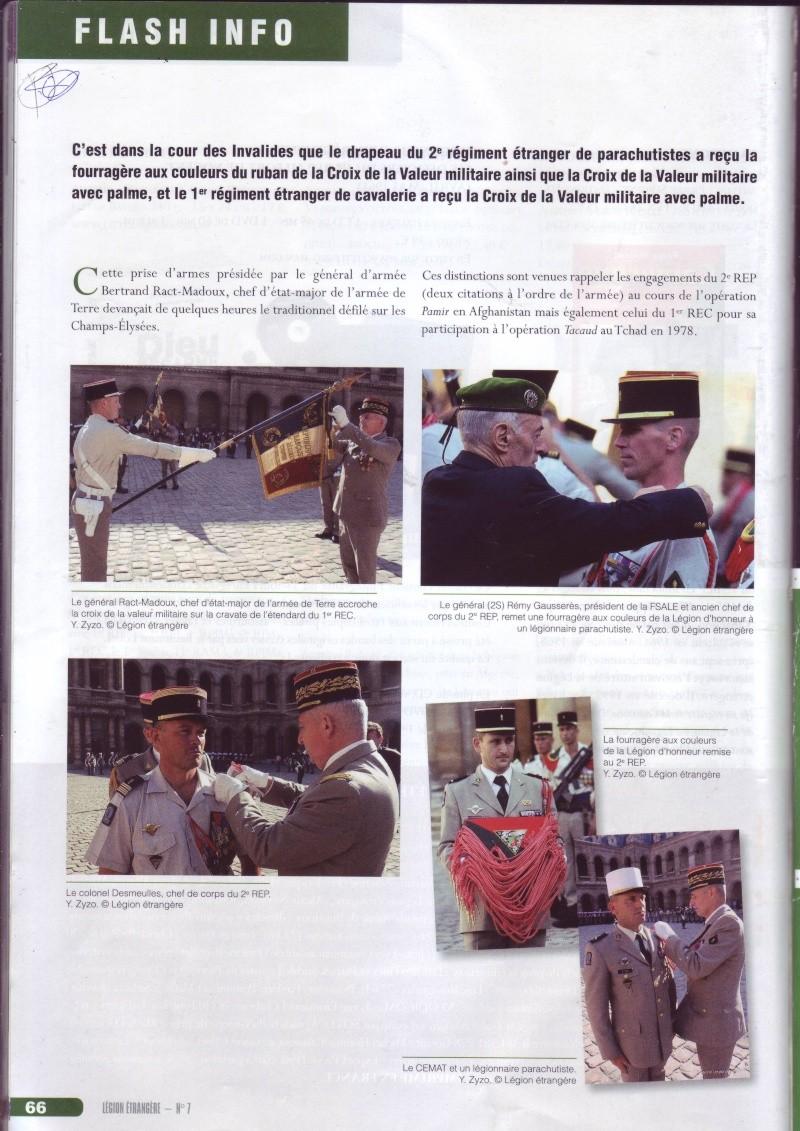 - Photos de remises  dzécorations aux drapeaux de 2 eme REP et 1 er REC,(ce n'est ps tout récent) Image034