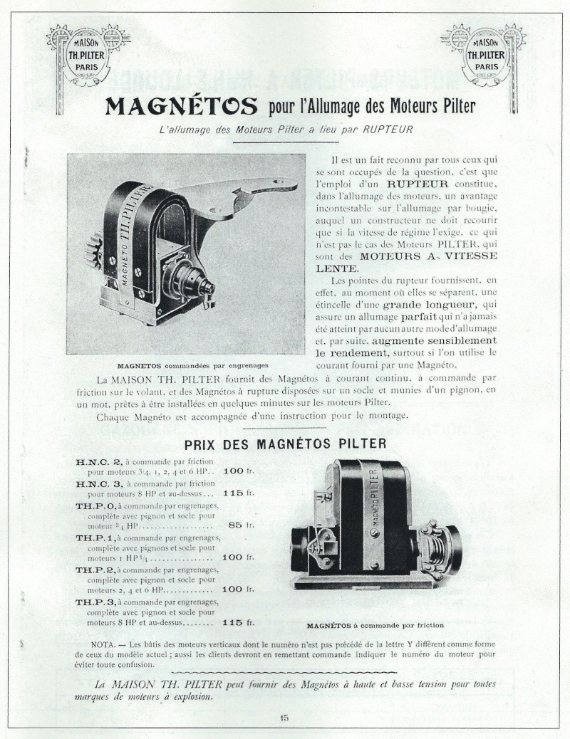Magneto Pilter Magnyt10