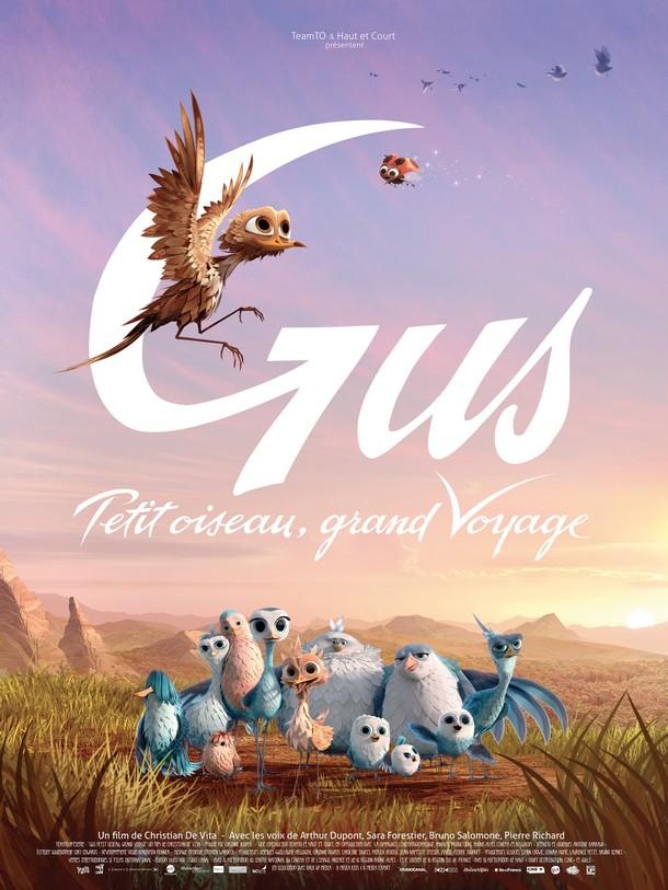 GUS PETIT OISEAU, GRAND VOYAGE - TeamTo - 04 Février 2015  Affich10