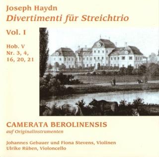 Les trios pour cordes HobV. Camera10
