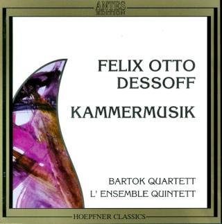 Felix Otto DESSOFF (1835-1892) Cover10