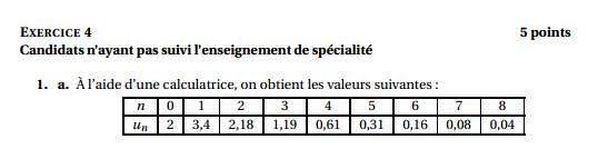 Maths: SUITES pour s'entraîner Antill11