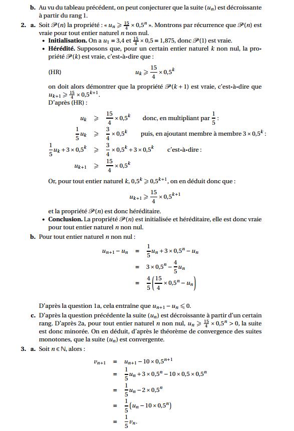 Maths: SUITES pour s'entraîner Antill12