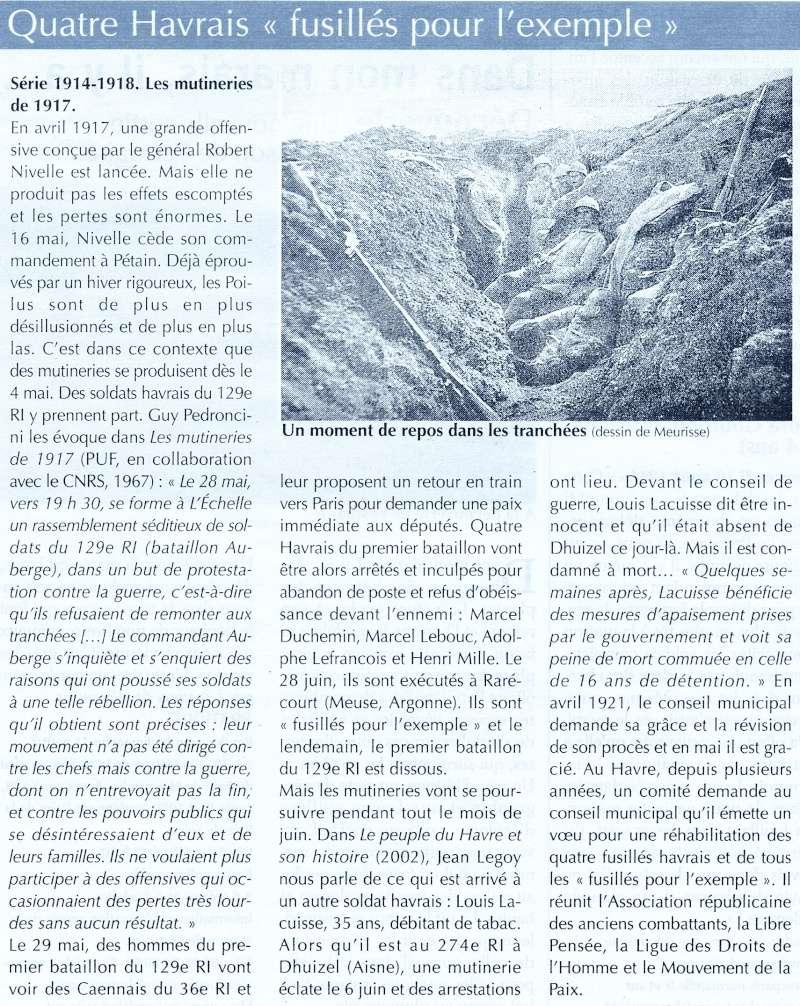 Articles consacrés à la Première Guerre mondiale 2014-010