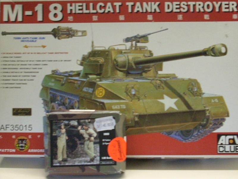 M 18 Hellcat AFV Club 1/35eme H110