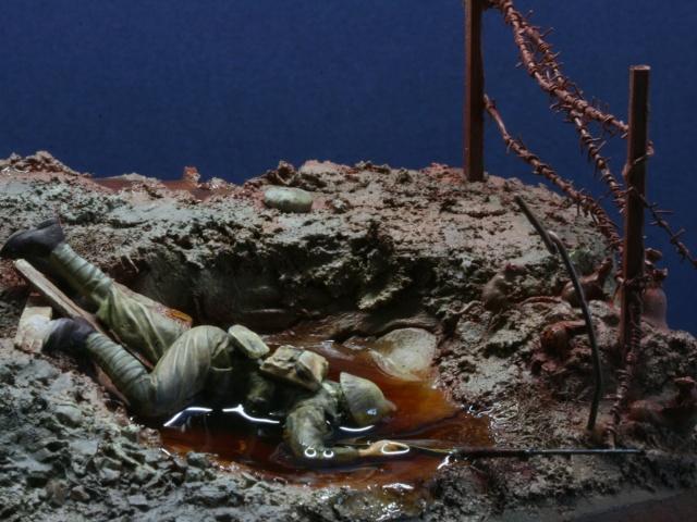 Bataille de la Somme: Septembre 1916 :saynète terminée Img_0616
