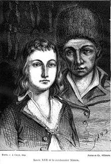 Les portraits de Louis XVII, prisonnier au Temple 220px-10