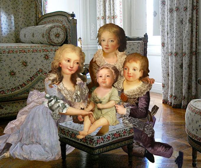 Le physique des enfants de Louis XVI et Marie-Antoinette - Page 3 Enfant10