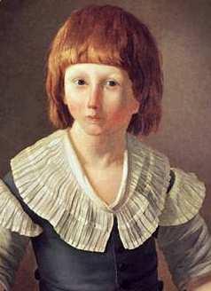 Les portraits de Louis XVII, prisonnier au Temple Louis_13