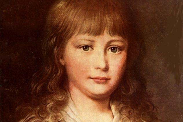 Les portraits de Louis XVII, prisonnier au Temple Louis_14