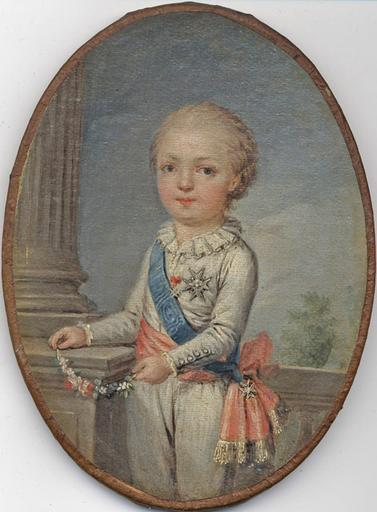 Portraits des dauphins Louis-Joseph ou Louis-Charles ? Louis_18