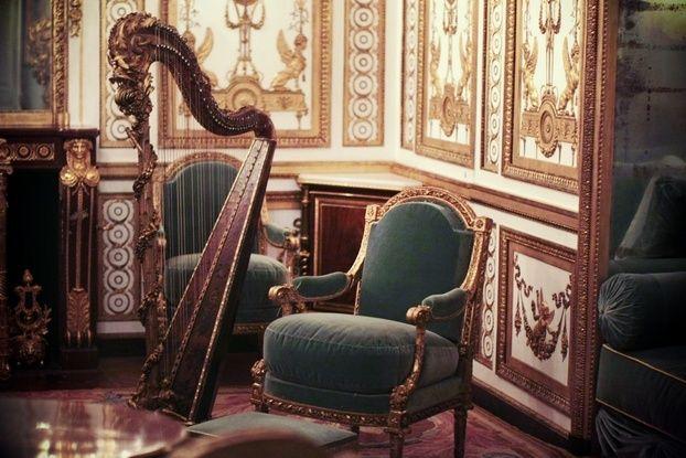 Le Cabinet doré de la Reine à Versailles Sdoryn10