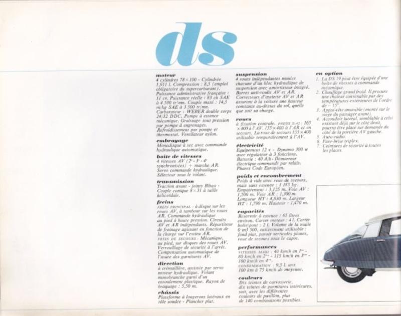 la DS et tous ses dérivés (ID, Break, coupés, cabriolets...) 1911