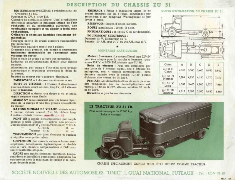 Pub et catalogues UNIC - IVECO Captu453