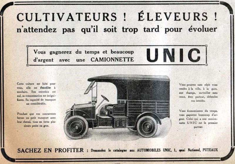 Pub et catalogues UNIC - IVECO Captur72