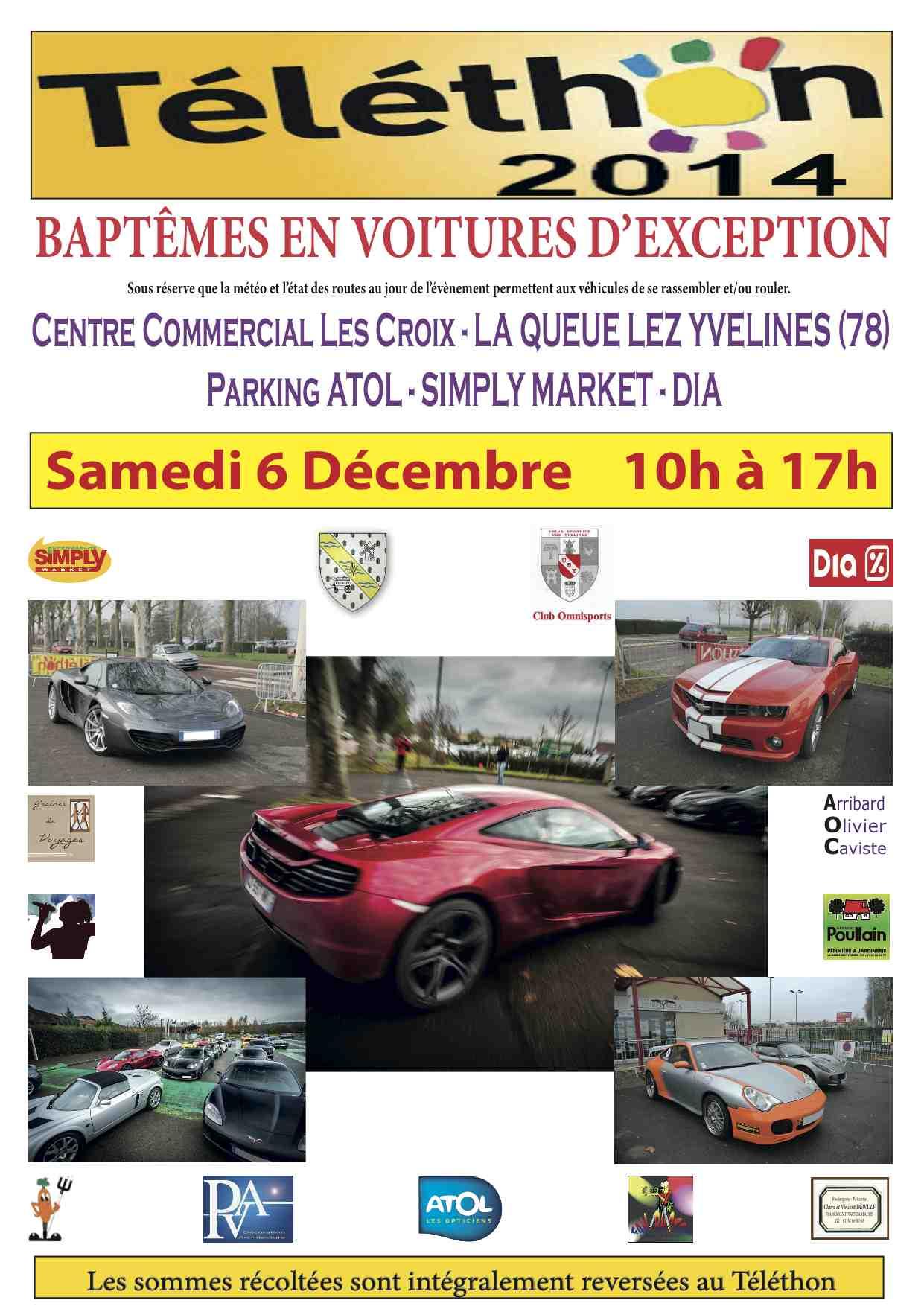 Téléthon 2014 La-Queue-Lez-Yvelines (78) Affich10