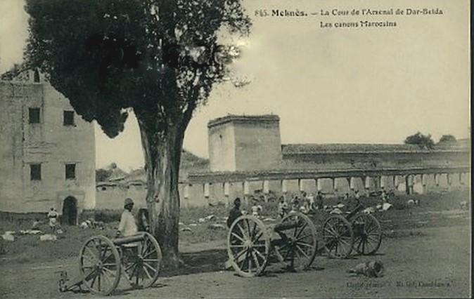 l'Ecole militaire Dar Beïda à Meknès 1787610