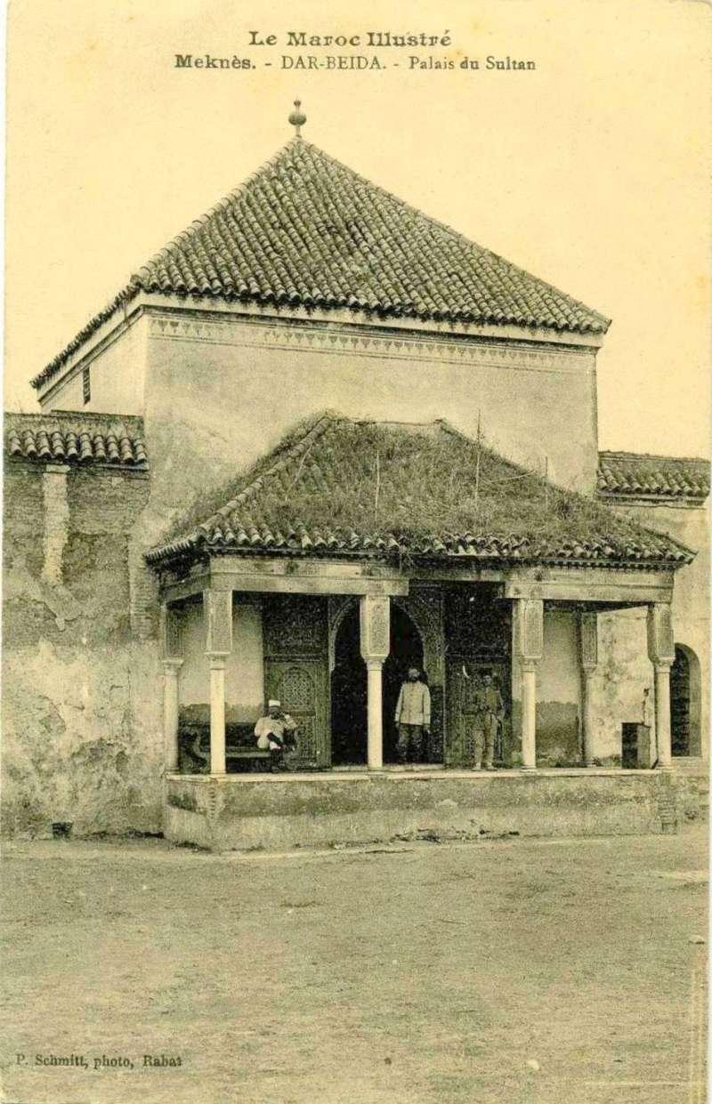 l'Ecole militaire Dar Beïda à Meknès 1916_10