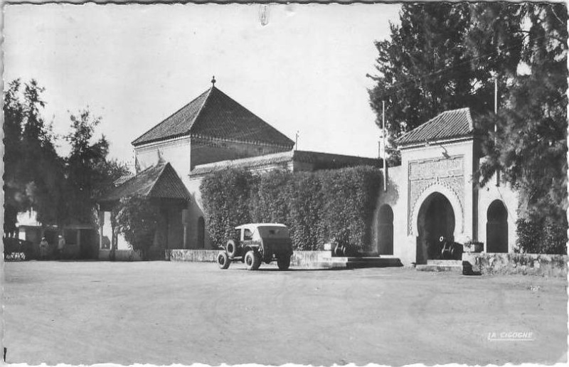 l'Ecole militaire Dar Beïda à Meknès 1954_510