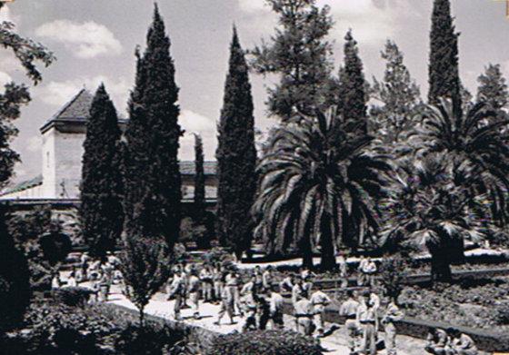 l'Ecole militaire Dar Beïda à Meknès 1954_d11
