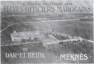 l'Ecole militaire Dar Beïda à Meknès 90345410