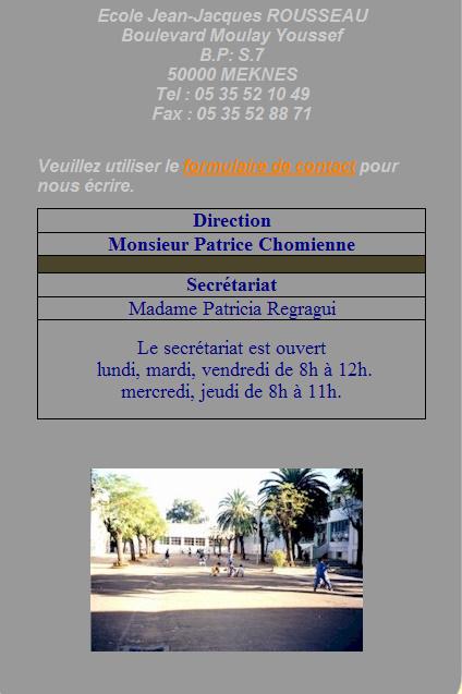 l'Ecole Jean Jacques Rousseau Ecole_13