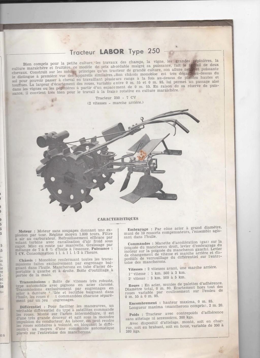 labor - Motoculteur Labor LMP type 250 00117