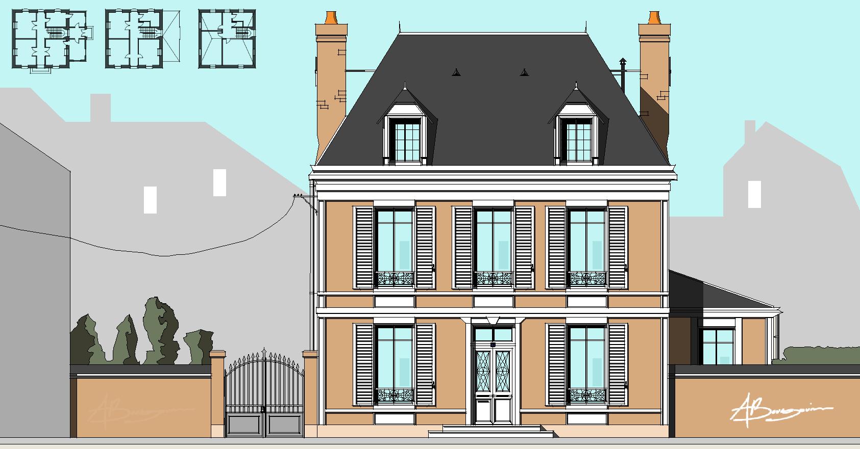SketchUp'eur architecte -AnthO'- - Page 29 30bis210