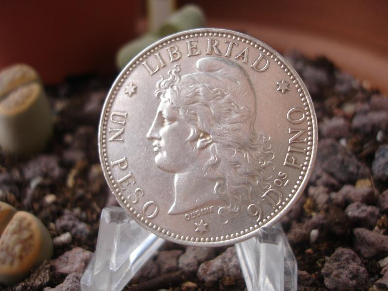 "1 Peso ""Patacón"". Argentina. 1882 Dsc08510"