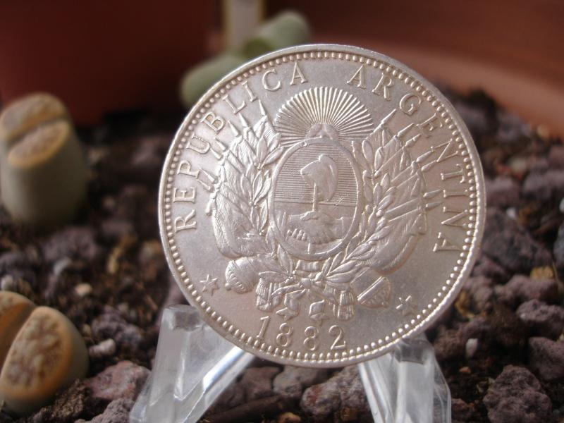 "1 Peso ""Patacón"". Argentina. 1882 Dsc08511"