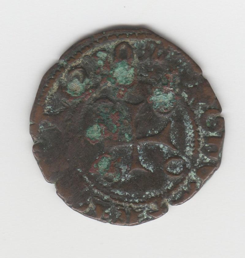 Cornado a nombre de Fernando el Católico acuñado en tiempos de Carlos I (IV de Navarra) Img96410