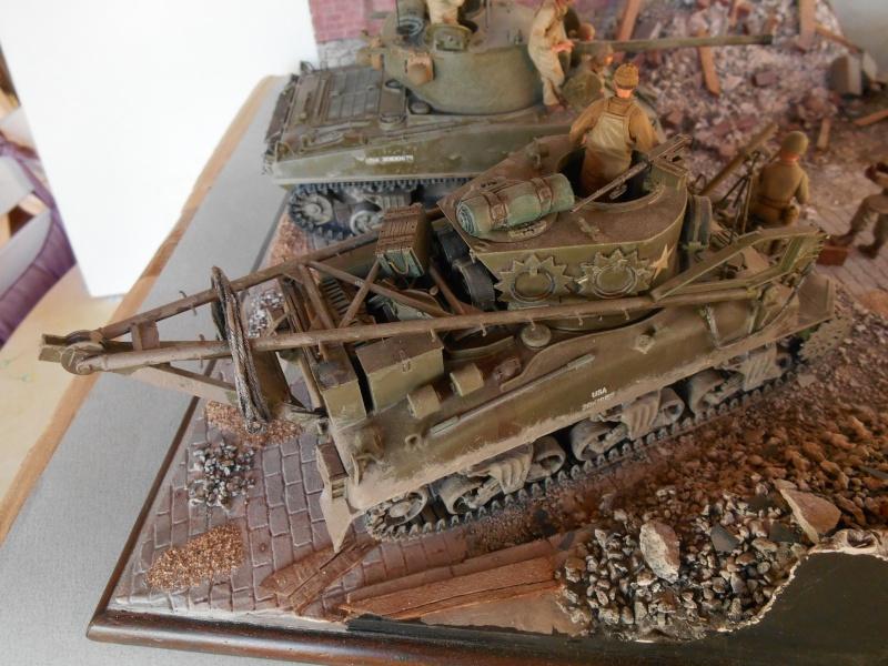 Normandie 44 - M32 Italeri - Sherman M4 Heller - 1/35e Norman14