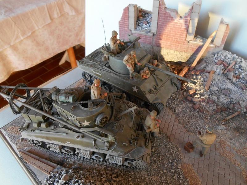 Normandie 44 - M32 Italeri - Sherman M4 Heller - 1/35e Norman16