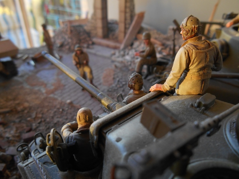 Normandie 44 - M32 Italeri - Sherman M4 Heller - 1/35e Norman26