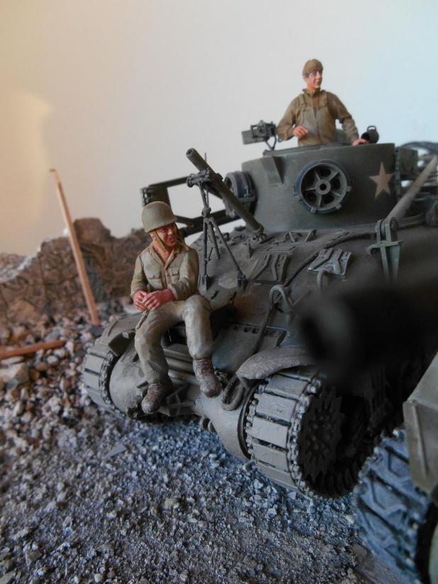 Normandie 44 - M32 Italeri - Sherman M4 Heller - 1/35e Norman28
