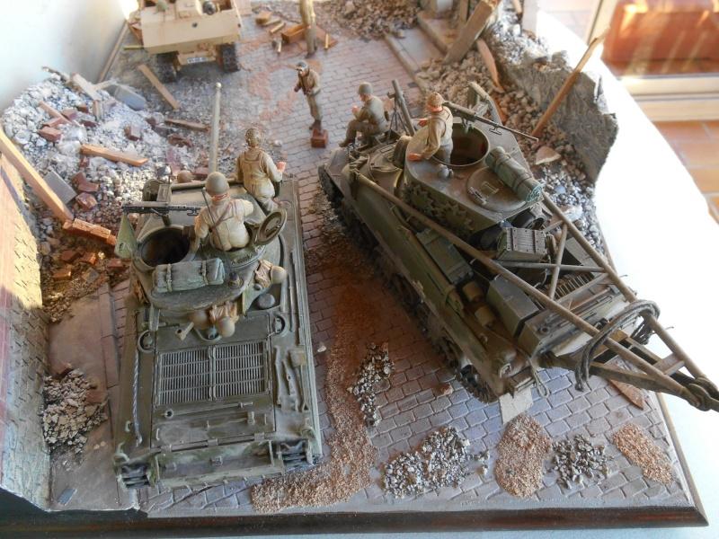 Normandie 44 - M32 Italeri - Sherman M4 Heller - 1/35e Norman29