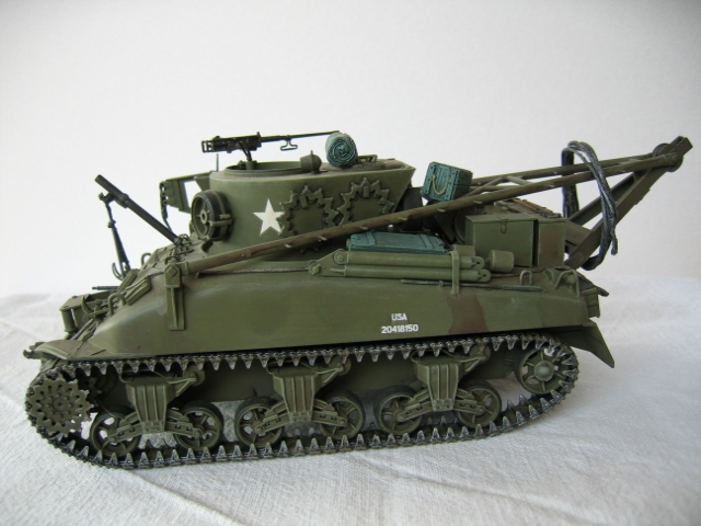 Recovery vehicle M32 - Italeri 1/35e Photos22