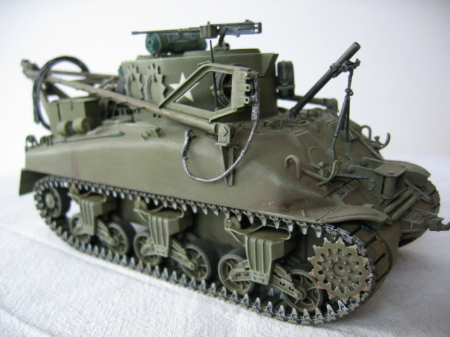 Recovery vehicle M32 - Italeri 1/35e Photos23