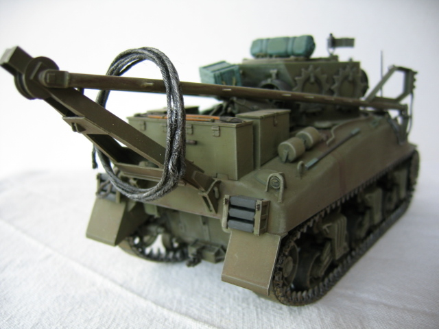 Recovery vehicle M32 - Italeri 1/35e Photos24