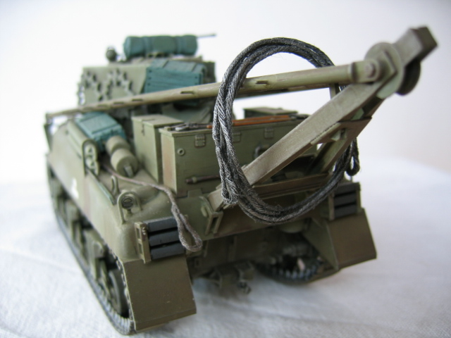 Recovery vehicle M32 - Italeri 1/35e Photos25